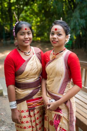 Assamese women in Guwahati Assam