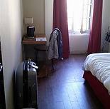 Hotelzimmer auf Tour in Bordeaux, 2015 COE Tour mit Vladimir Jurowski und Radu Lupu