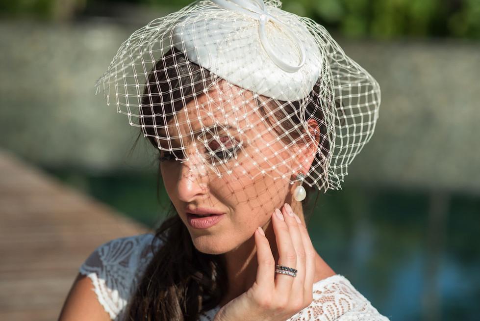 2. Bevont tok kalap, menyasszonyi fejdísz
