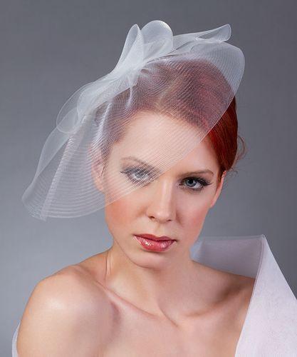 5. Áttetsző menyasszonyi fejdísz