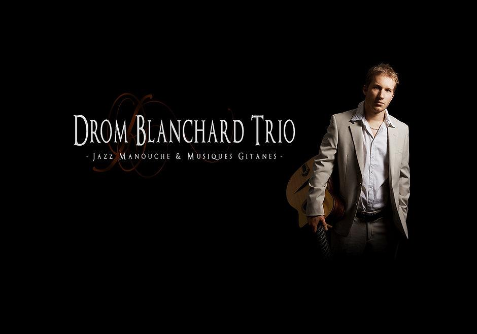 Drom Blanchard Trio - guitare jazz manouche et musique tzigane Montpellier