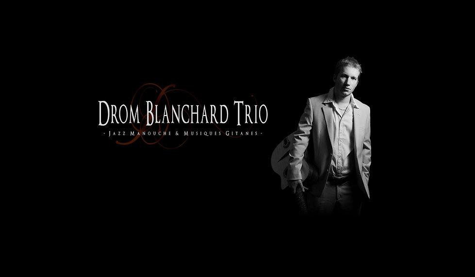 Drom Blanchard Trio - guitare jazz manouche et musique tzigane Narbonne