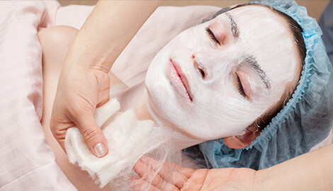 Relax and take care of your skin with fabulous facials
