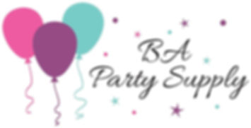 BA Party Supply - Logo Design Final Rast