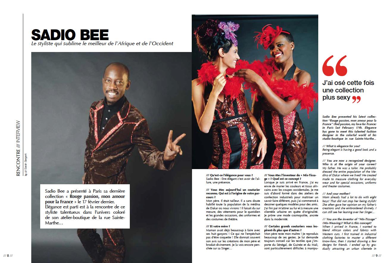 Elegance Sadio Bee