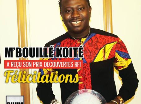 Concert M'Bouillé Koité, lauréat du Prix Découvertes RFI 2017 à Paris avant la #tournée en #Afrique.