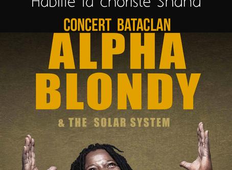 Concert Alpha Blondy au Bataclan