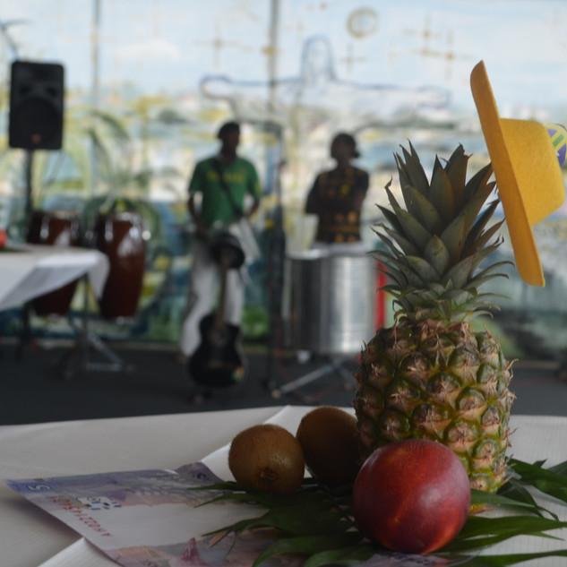 Tischdeko Idee - Tropical