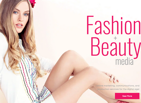 FASHION AND BEAUTY MEDIA LOGO