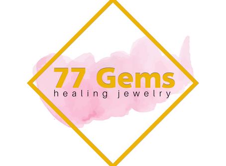 77 GEMS HEALING JEWELRY LOGO