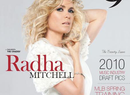 Radha Mitchell - LIVE Magazine