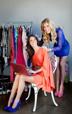 Elle and Blair Fowler