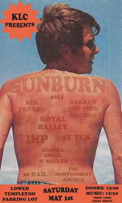 Sunburn 2021: student bands