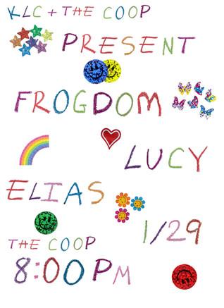 Frogdom x Lucy x Elias