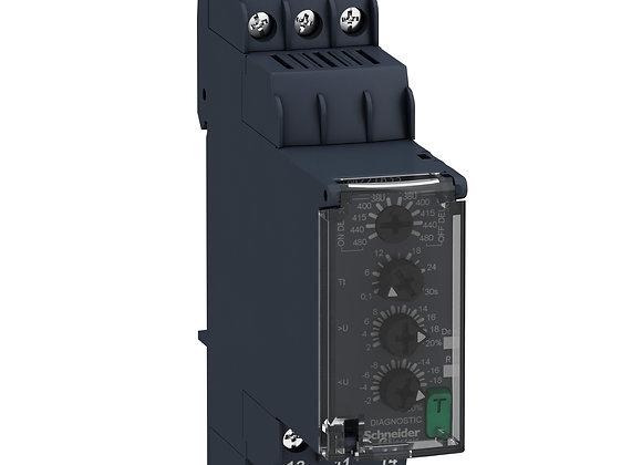 Schneider RM22TR33 Three-Phase Voltage control relay 380…480Vac, 2 C/O