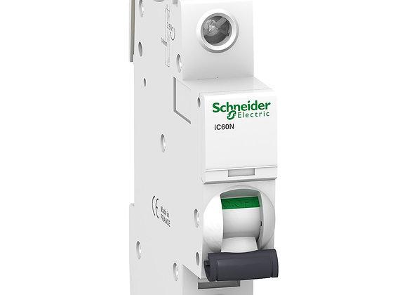 Schneider Acti9 MCB IC60N - miniature circuit breaker - 1P  - C curve