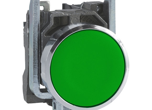 Schneider XB4BA31 Green Metal pushbutton