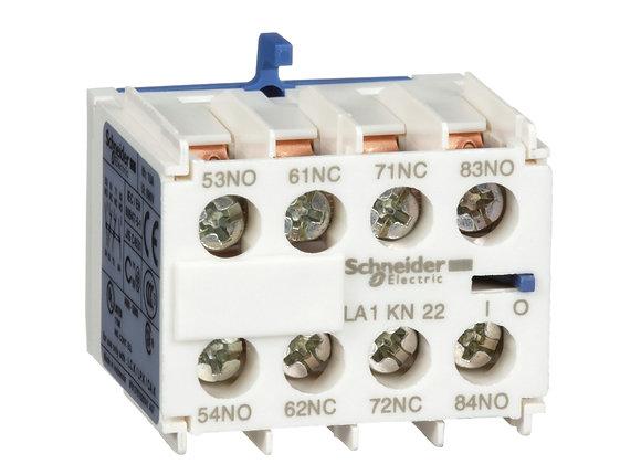Schneider LA1KN22  Auxiliary contact block - 2 NO + 2 NC