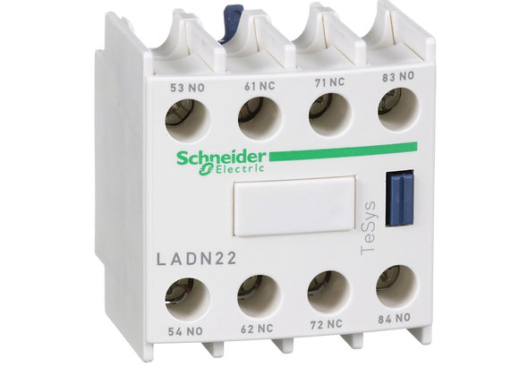 Schneider LADN22 auxiliary contact