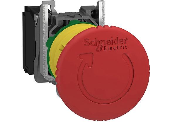 Schneider XB4BS8442 Red Ø40 Emergency stop