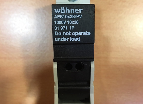 Wohner 31971 HOLDER FOR CYLINDRICAL FUSES