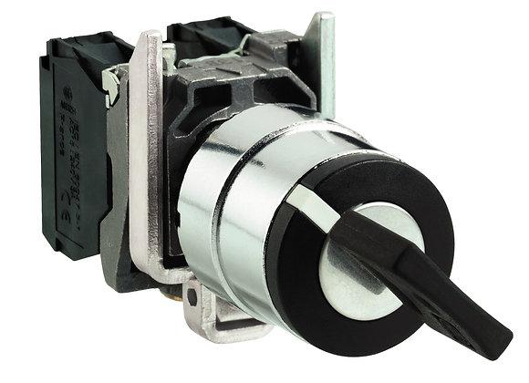 Schneider XB4BG21 Key selector switch Ø22 2-position