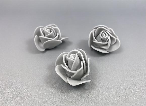 Flores grises