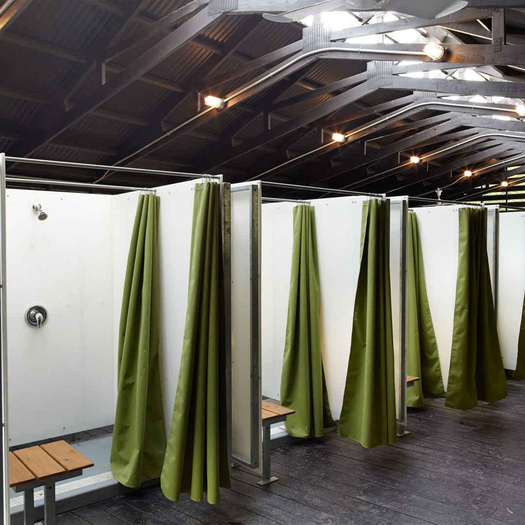 Camp Daisy Hindman Bath House