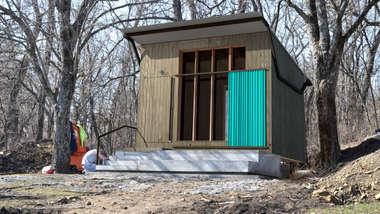 Camp Daisy Hindman Cabin Prototype