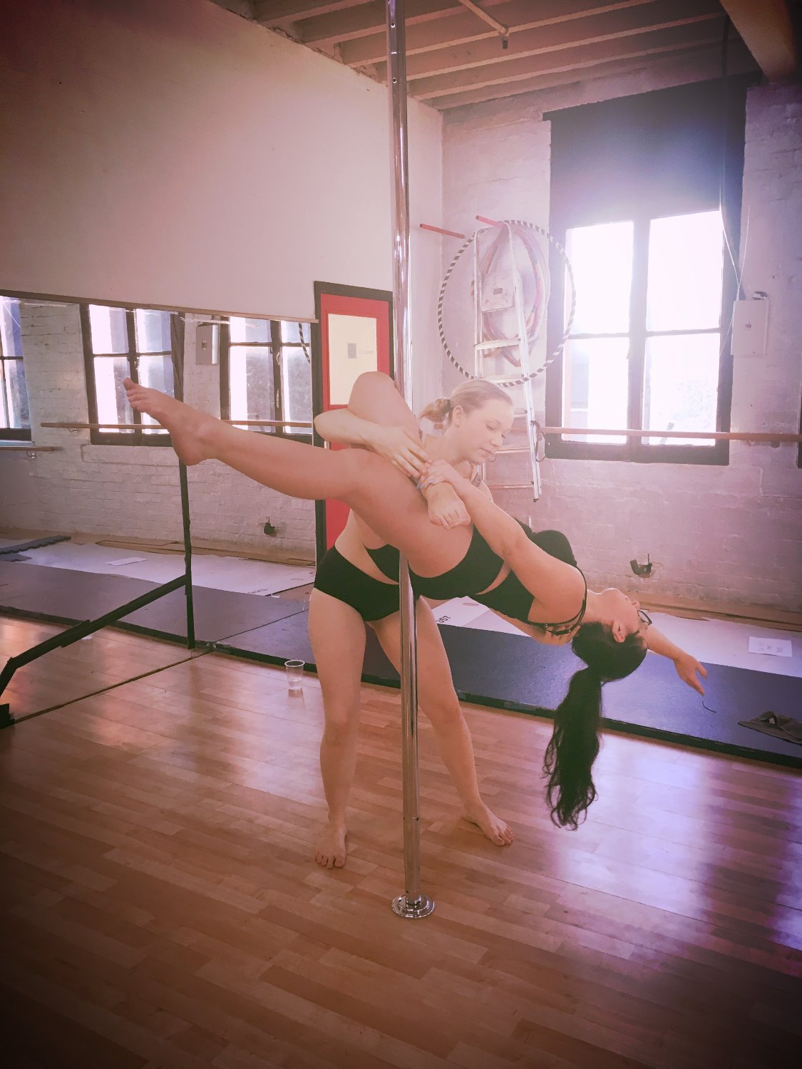 Friday 7.15-8.15pm Beginners Only Pole