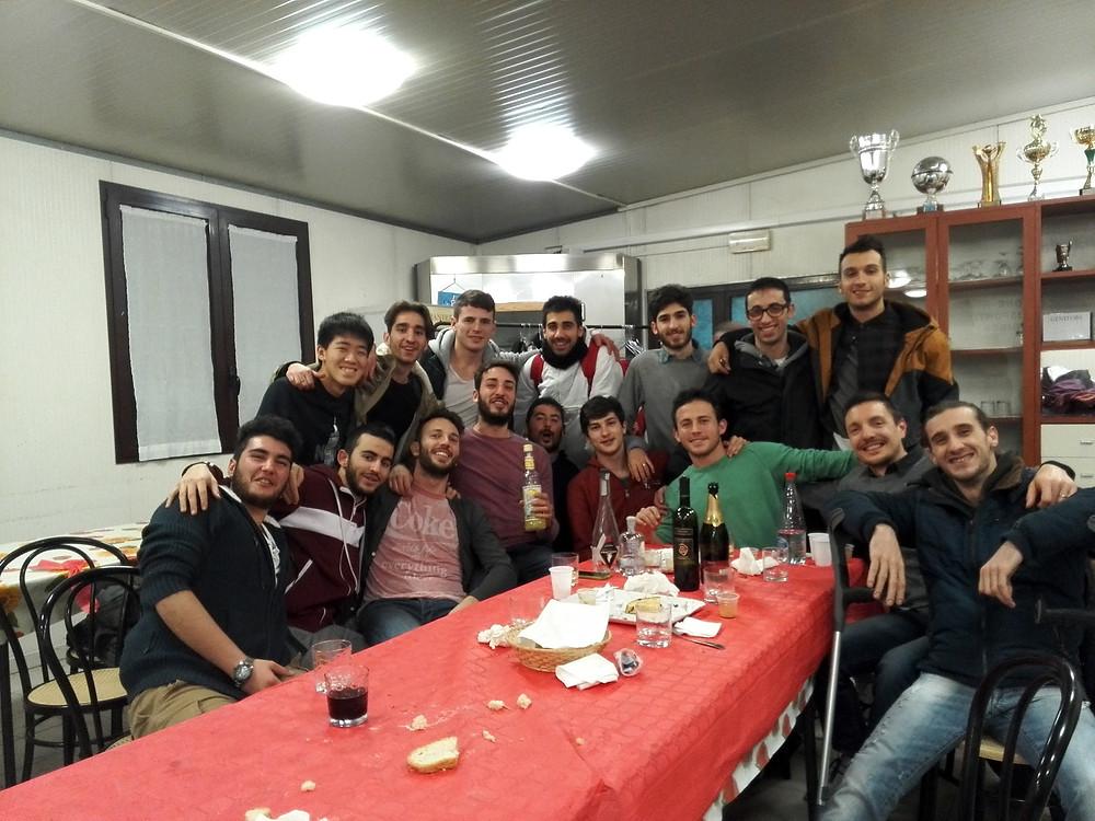 イタリアのチームメイト