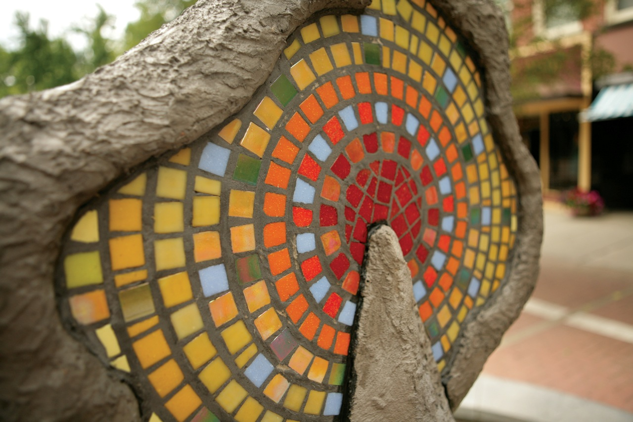 Spirit of the Tree -mosaic