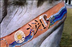 Kobacker Memorial- mosaic