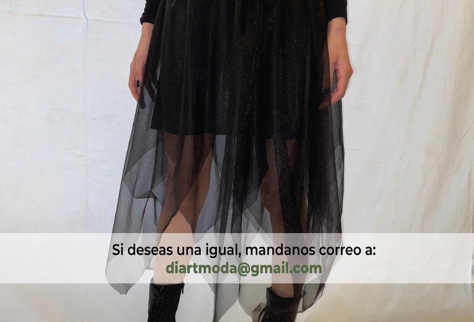 Faldas con Capas de Tulle- por Ariela Cohen