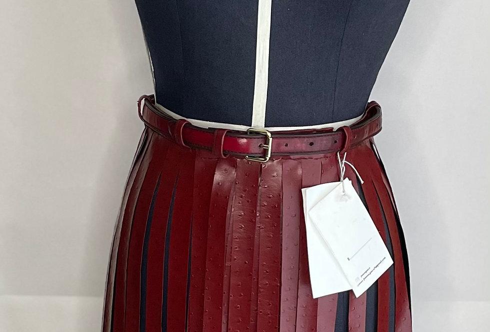 Cinturón Estilo Falda con Flecos - por Jimena Gasca