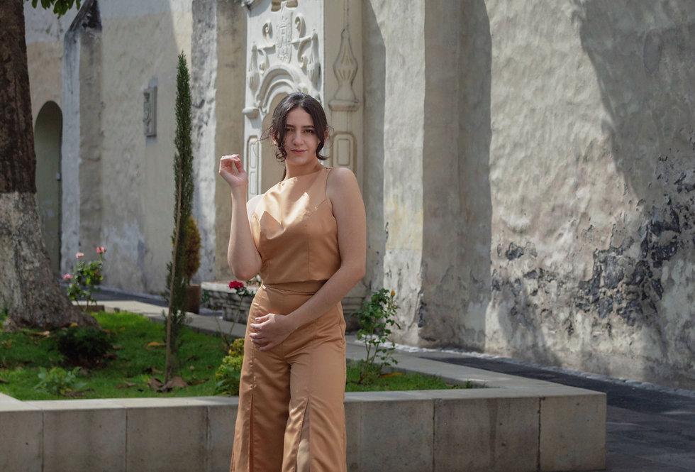 Pantalón con Trasparencia en Centro - por Fer Herrera