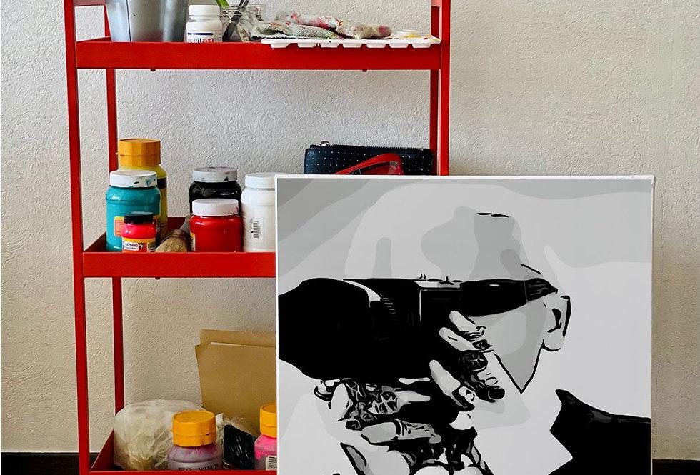 Cuadro Personalizado 50 x 60- por Isabella Rodríguez