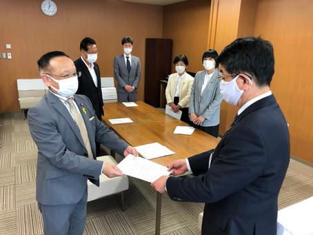 「石川緊急事態宣言」が発出された事を受け申し入れ(16回目の申し入れ)
