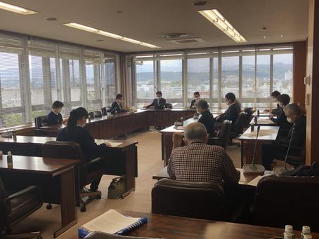 介護保険制度の改定が予定されている中、金沢市独自の施策を要望しました