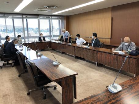 社保協の方々と「金沢市2021年度予算に対する要望書」を提出しました