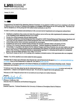 University of Alabama-Birmingham School of Medicine