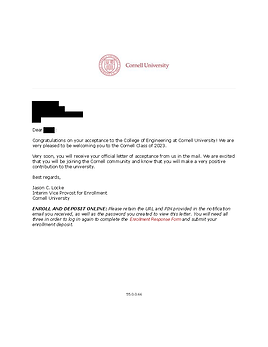 Cornell University Admit Letter.png