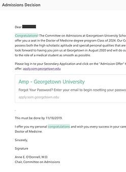 Georgetown University School of Medicine