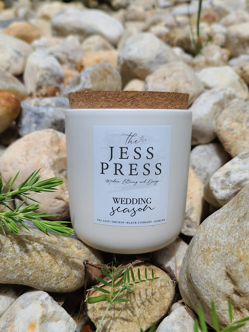 The Jess Press Candle
