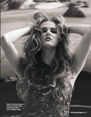 Victoria Henley for VonRouge Magazine