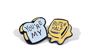 You're My Butter Half Pins