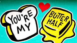 You're My Butter Half Art and Products