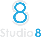 Studio 8 Blue Logo.png