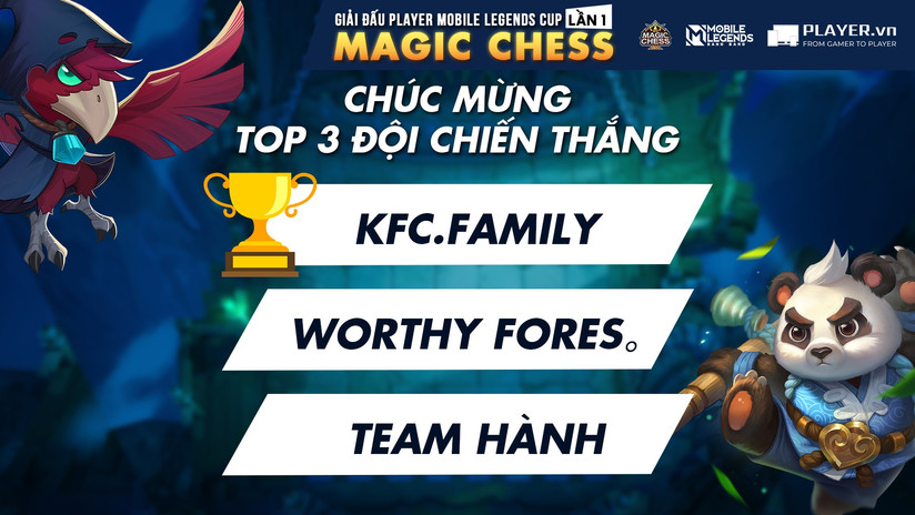 Player Mobile Legends Magic Chess Lần 1