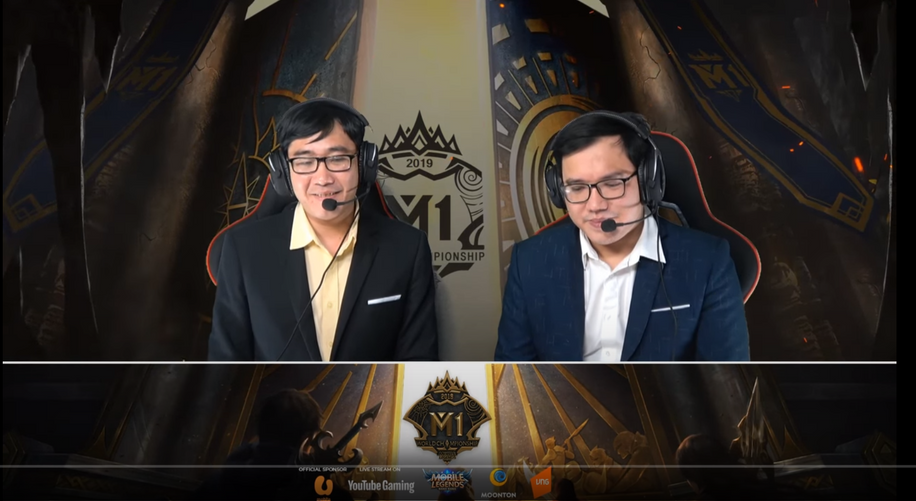 Bình Luận Viên giải M1 Daniel & Hải DươngG
